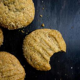 Chewy Molasses Cookies (Gingerbread Cookies)