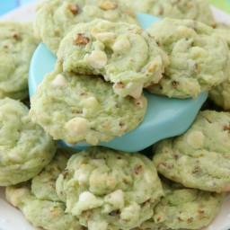 Chewy Pistachio Cookies