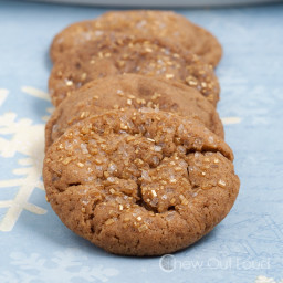 Chewy, Soft Ginger Cookies