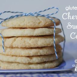 Chewy Sugar Cookies {Gluten-free}