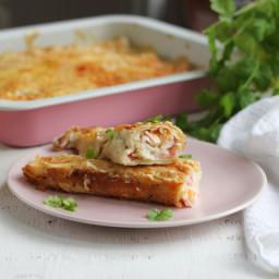 Chi Chi's Seafood Enchiladas