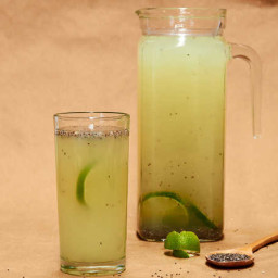 Chia Lime Water