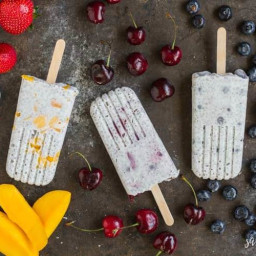 Chia Pudding Popsicles