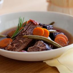 Chianti Marinated Beef Stew