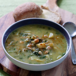 Chick-pea and Spinach Soup