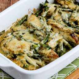 Chicken and Asparagus with Three Cheeses (Video)