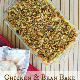 Chicken and Bean Bake
