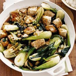 Chicken and Bok Choy Stir-Fry