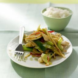 Chicken and Celery Stir-Fry