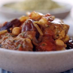 Chicken and date tagine