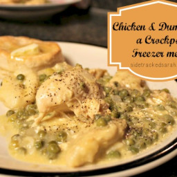 Chicken and Dumplings (From Freezer to Crockpot)