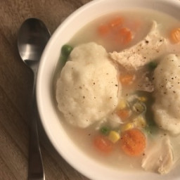 Chicken and Dumplings in an Instant Pot or on the Stove-Top