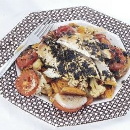 Chicken and Fresh Vegetable Provencale
