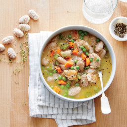 Chicken and Gnocchi Dumpling Soup