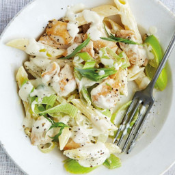Chicken and Leek Pasta