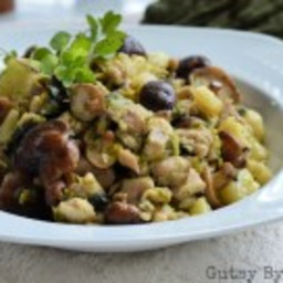 Chicken and Mushroom Stew with Celery Root and Marjoram (AIP)