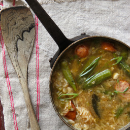Chicken and Okra Gumbo