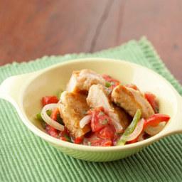 Chicken and Pepper Saute