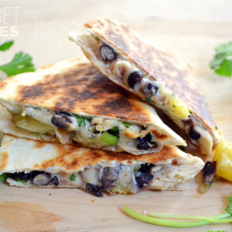 Chicken and Pineapple Quesadillas