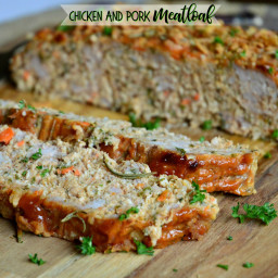 Chicken and Pork Meatloaf (A Family Favorite)