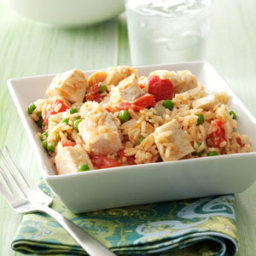 Chicken and Rice Skillet Recipe