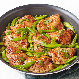 Chicken and Snap Pea Skillet