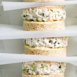 Chicken and tarragon sandwiches