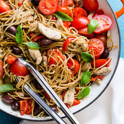 Chicken and Whole Wheat Spaghetti Recipe
