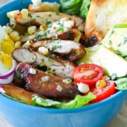 Chicken Avocado Bacon Salad Recipe