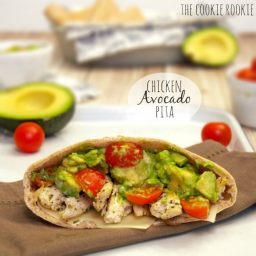 Chicken Avocado Pitas