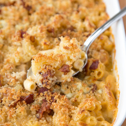 Chicken, Bacon and Blue Cheese Mac and Cheese