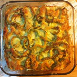 Chicken Bell Pepper Casserole