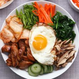 Chicken Bibimbap Recipe by Tasty