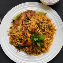Chicken Biryani - Instant Pot