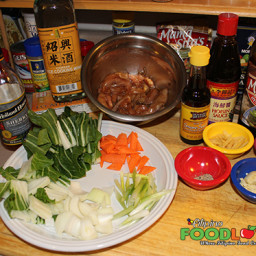 Chicken & Bok Choy Stir-Fry