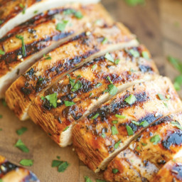 Chicken breasts marinade