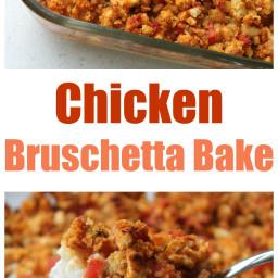 Chicken Bruschetta Bake (the BEST meal to take to someone!)