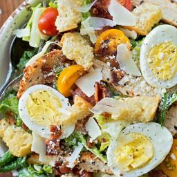 Chicken Caeser Salad Recipe