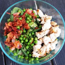 Chicken Carbonara-Inspired Salad