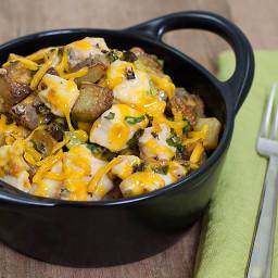Chicken, Cheese & Potato Casserole