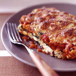 Chicken-Cheese Spinach Lasagna