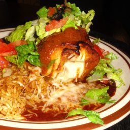 GT Xpress Chicken Chimichangas