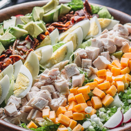 Chicken Cobb Salad With Cobb Salad Dressing