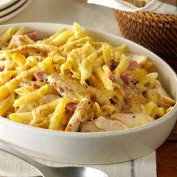 Chicken Cordon Bleu Pasta Recipe