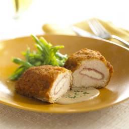Chicken Cordon Bleu with Fresh Goat Cheese