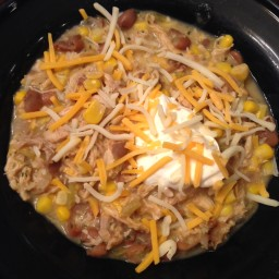 Chicken-Corn Chili