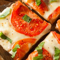 Chicken Crust Pizza Margarita. #nocarbpizza