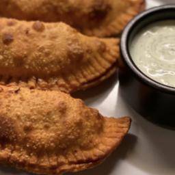 Chicken Empanadas With Greek Yogurt Dipping Sauce Recipe by Tasty