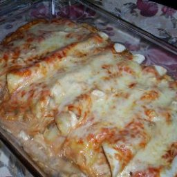 Chicken Enchiladas with a twist