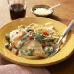 Chicken Florentine Carbonara